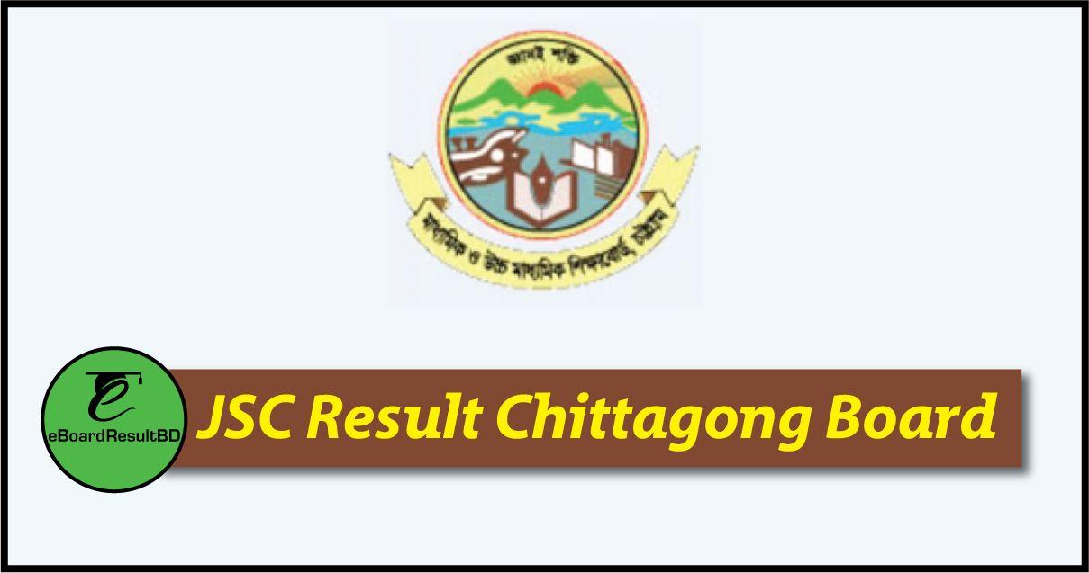 JSC Result 2019 Chittagong Board